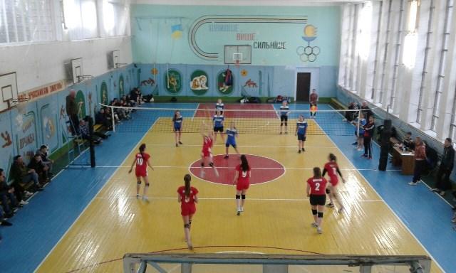 Всеукраїнська спартакіада серед ЗВО коледжів та технікумів з волейболу